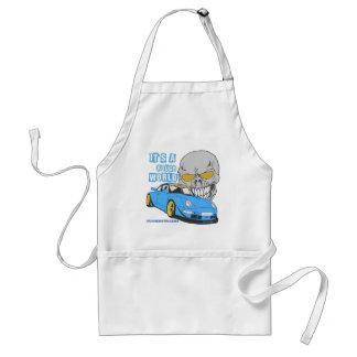 It's a rough world standard apron
