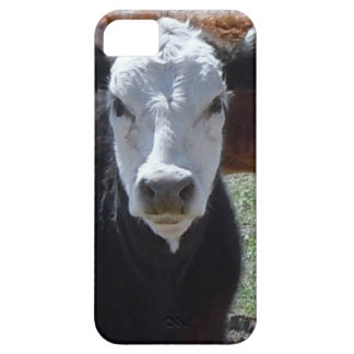 It's a Roundup! Black White Cattle Cow Calf Calves iPhone 5 Covers