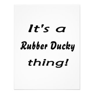 It's a rubber ducky thing! personalized invitations