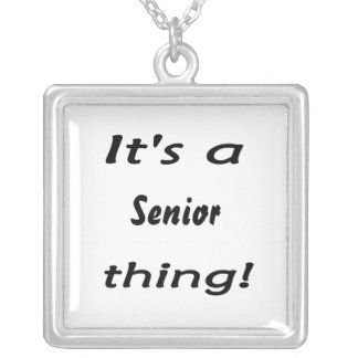 It's a senior thing! necklaces