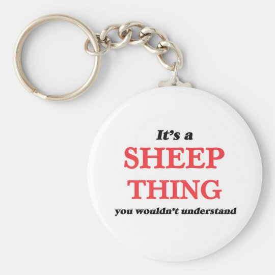 It's a Sheep thing, you wouldn't understand Keychain