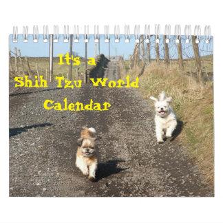 It's A Shih Tzu World Wall Calendars