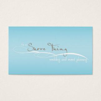It's A Shore Thing Business Card Jennifer