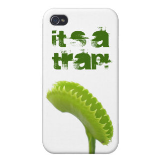 It's a trap! iPhone 4 cases