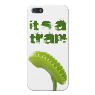 It's a trap! iPhone 5/5S cover