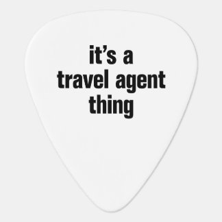its a travel agent thing pick
