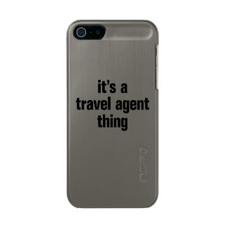 its a travel agent thing incipio feather® shine iPhone 5 case