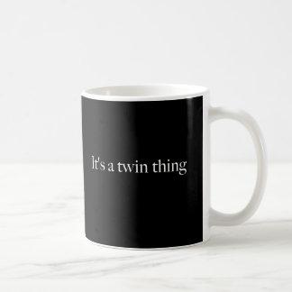 It's a twin thing coffee mug