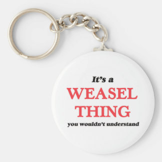 It's a Weasel thing, you wouldn't understand Keychain