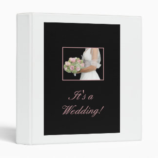 it's a wedding binder
