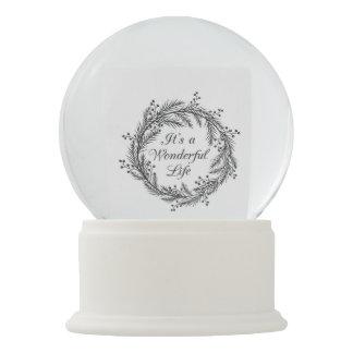 It's a Wonderful Life - Christmas Snow Globe