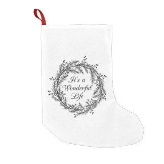 It's a Wonderful Life - Christmas Stocking