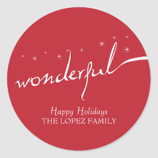 It's a Wonderful Life, Holiday Classic Round Sticker