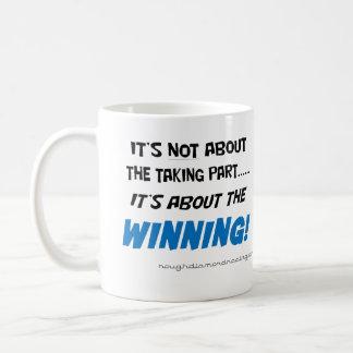 It's about the winning mug