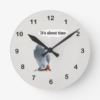 It's About Time Wall Clock