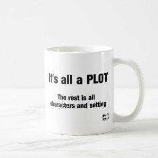 It's all a PLOT Coffee Mug