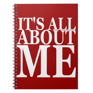 It's All About Me Notebooks