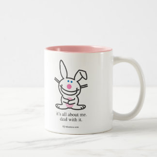 It's All About Me Two-Tone Coffee Mug