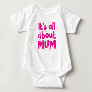 its all about mum baby bodysuit
