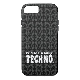 It's All About Techno - Phone Case