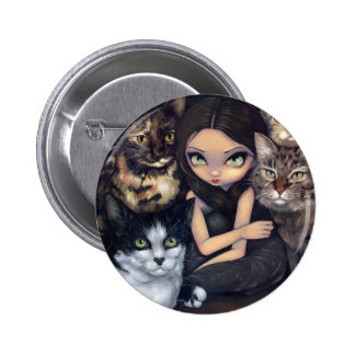 """""""It's All About the Cats"""" Button"""