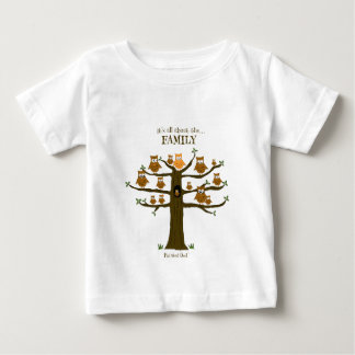 It's All About the Family Baby T-Shirt