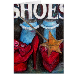 It's All About The SHOES! Card