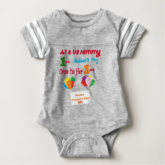 Its All Good In The Hood®  Football All1 Baby Bodysuit