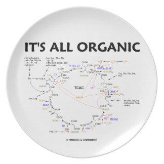 It's All Organic (Krebs Cycle Biochemistry) Plate