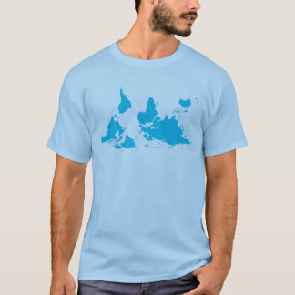 It's All Relative world map tee shirt