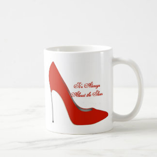 It's Always About The Shoes Mug