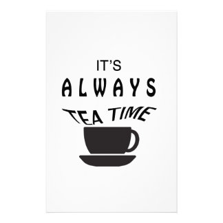 Its Always Tea Time Stationery