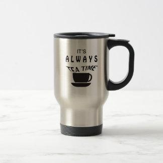 Its Always Tea Time Travel Mug