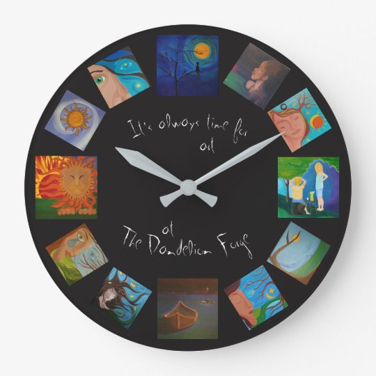 It's Always Time for Art at the Forge Clock