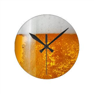 It's always time for Beer- Beer O'clock Wallclocks
