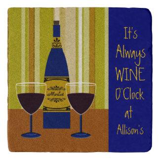 It's Always Wine O'Clock at Allison's Trivet