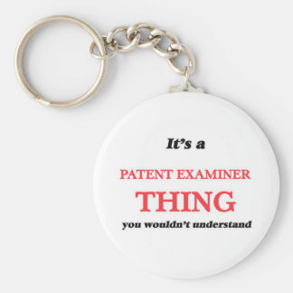 It's and Patent Examiner thing, you wouldn't under Keychain