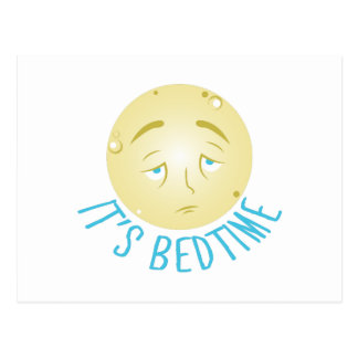 Its Bedtime Postcard