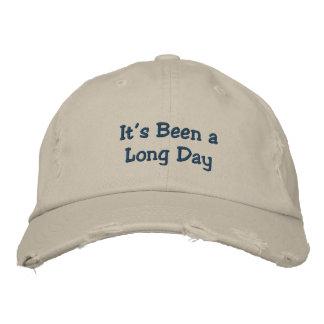 It's Been a Long Day Baseball Cap