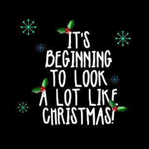 Its Beginning To Look A Lot Like Christmas Lyrics.White Christmas Lyrics Holiday Gifts On Zazzle Ca
