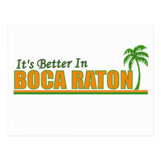 Its Better in Boca Raton Postcard