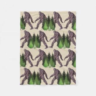 It's Big Foot Country Fleece Blanket