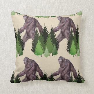 It's Big Foot Country Throw Pillow