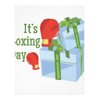 Its Boxing Day Letterhead