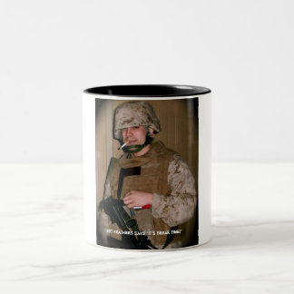 """""""It's Break Time"""" Two-Tone Coffee Mug"""