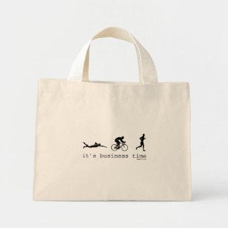 It's Business Time Mini Tote Bag