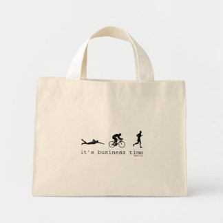 It's Business Time Mini Tote Bag
