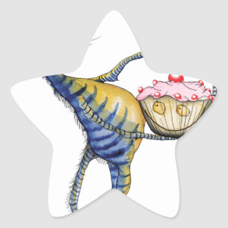 it's cake time, tony fernandes star sticker