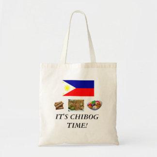 It's Chibog Time! budget handbag