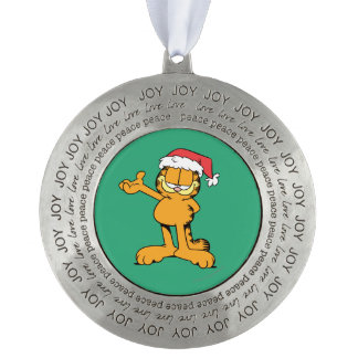 It's Christmas! Round Pewter Ornament